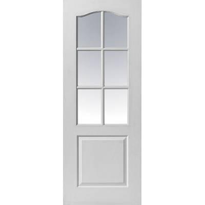 White Classic Classique 6 Light - Door Size, HxW: ...