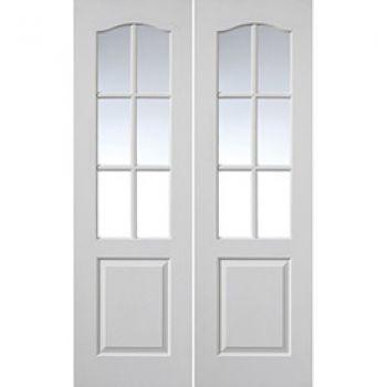 White Classic Classique 6 Light Pairs