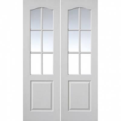 White Classic Classique 6 Light Pairs...