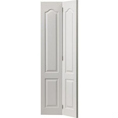 White Classic Classique Bi-fold - Door Size, HxW: ...