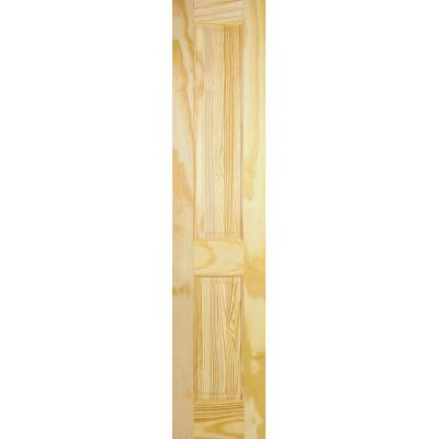 2 Panel Clear Pine Internal Half Door Wooden Timber - Door S...