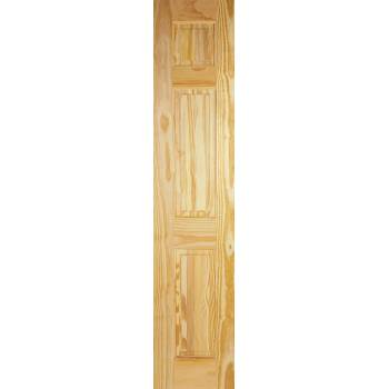 3 Panel Clear Pine Internal Half Door Wooden Timber