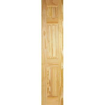 3 Panel Clear Pine Half Door