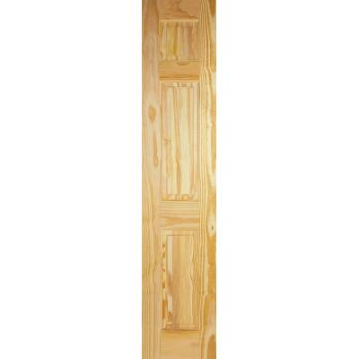 3 Panel Clear Pine Internal Half Door Wooden Timber - Door S...