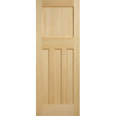 Radiata Pine DX 30's Style Internal Door Wooden Timber - Doo...