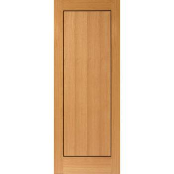 Pre Finished Contemporary Oak Clementine Fire Door