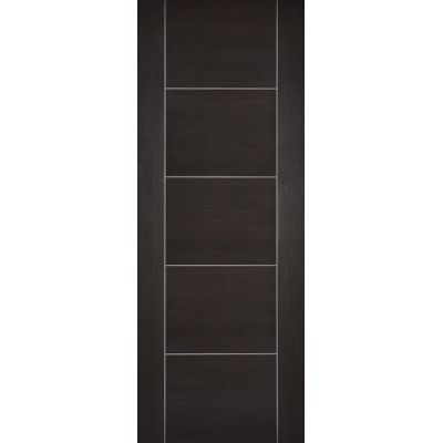 Pre-finished Vancouver Dark Grey Internal Door Laminate - Door Size, HxW: