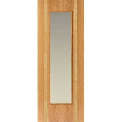 Pre Finished Contemporary Oak Rhodesia - Door Size, HxW: