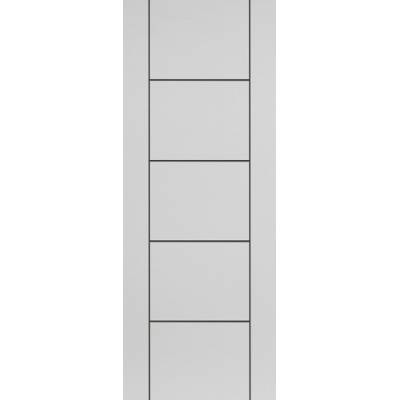 Pre-finished White Contemporary Linea - Door Size, HxW: ...
