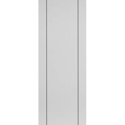 Pre-finished White Contemporary Parelo Fire Door - Door Size...