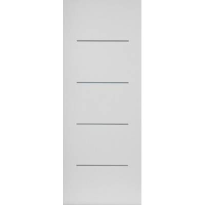 Pre-finished White Contemporary Blanco - Door Size, HxW: ...