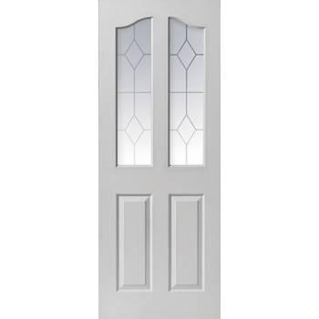 White Classic Edwardian 2 Light