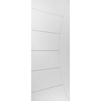 White Contemporary Elektra Fire Door