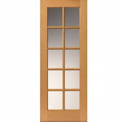 Pre finished Classic Oak Gisburn Internal Door  - Door Size, HxW: