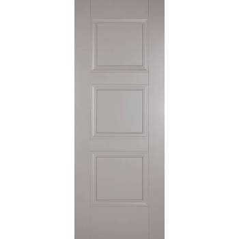 Grey Primed Amsterdam Internal Fire Door