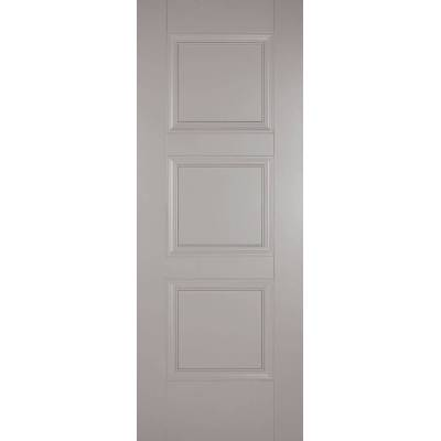 Grey Primed Amsterdam Internal Door  - Door Size, HxW: ...