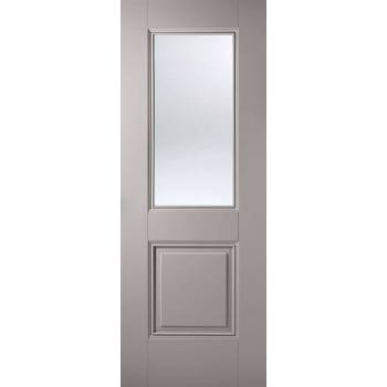 Grey Primed Arnhem Glazed Internal Door