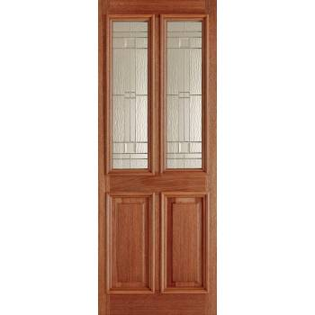 Hardwood Derby Elegant External Door Wooden Timber