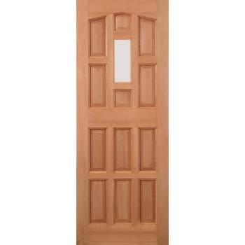 Hardwood Elizabethan External Door Wooden Timber - Essentials Range