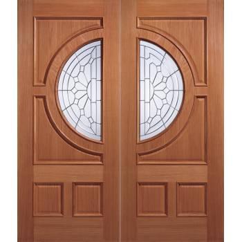 Hardwood Empress External Door Wooden Timber