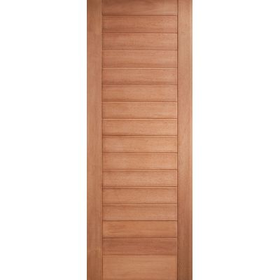 Hardwood Hayes External Door Wooden Timber - Essentials Rang...