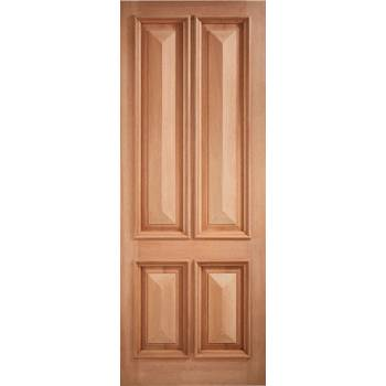 Hardwood Islington External Door Wooden Timber - Essentials Range
