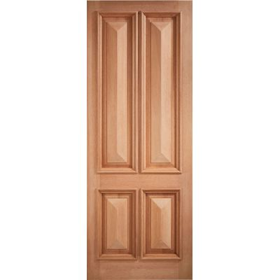 Hardwood Islington External Door Wooden Timber - Essentials ...