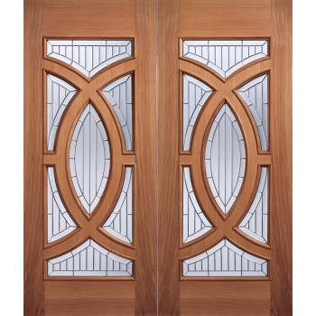 Hardwood Majestic External Door Wooden Timber