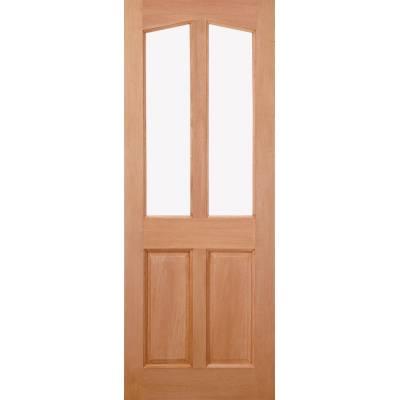 Hardwood Richmond (Dowel) External Door Wooden Timber - Essentials Range - Door Size, HxW: