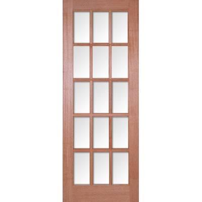 Hardwood SA Glazed Internal Door Wooden Timber - Door Size, ...