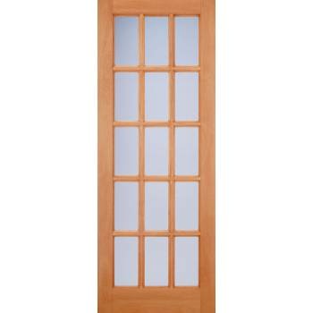 Hardwood SA Frosted Glazed Door Wooden Timber - Essentials Range