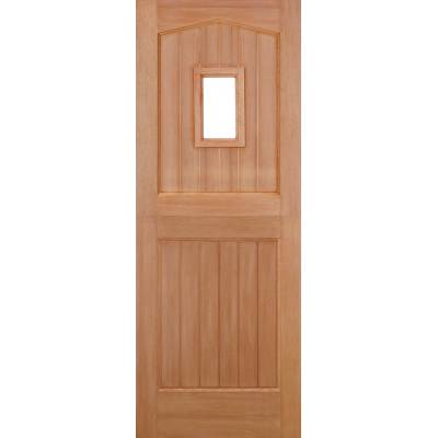 Hardwood Stable 1L (Dowel) External Door Wooden Timber - Ess...