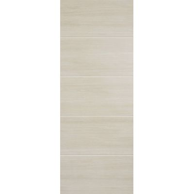 Pre-finished Santandor Ivory Internal Fire Door Laminate - D...