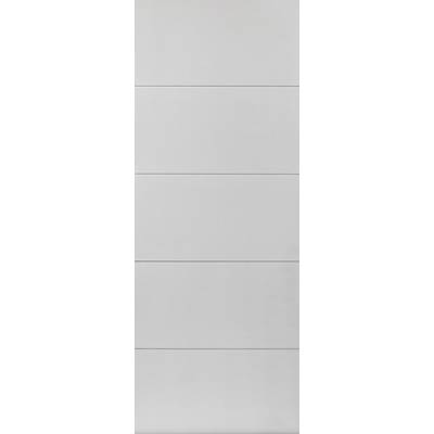 White Contemporary Adelphi - Door Size, HxW:
