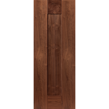 Pre Finished Walnut Axis Fire Door