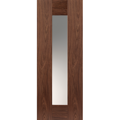 Pre Finished Walnut Axis Glazed - Door Size, HxW: ...