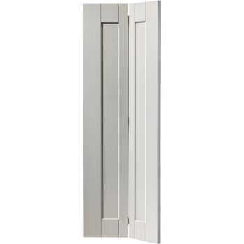 White Shaker Axis Bi-fold