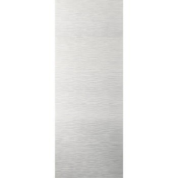 White Contemporary Ripple Fire Door