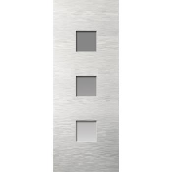 White Contemporary Ripple Glazed