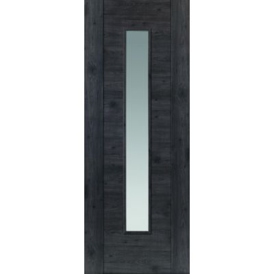 Pre Finished Laminates Alabama Cinza Glazed - Door Size, HxW: