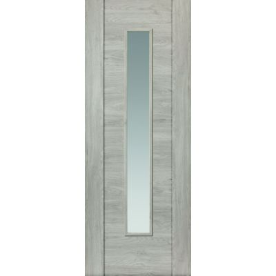 Pre Finished Laminates Alabama Fumo Glazed - Door Size, HxW:...