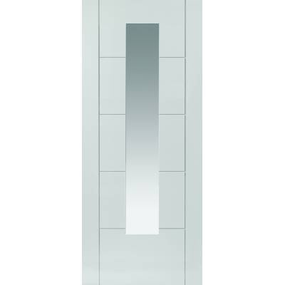 Pre Finished White Contemporary Emral  - Door Size, HxW: ...