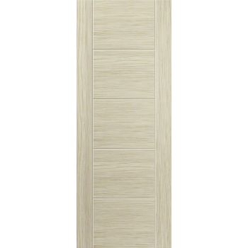 Pre Finished Laminates Ivory Fire Door