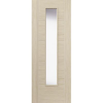 Pre Finished Laminates Ivory Glazed - Door Size, HxW: