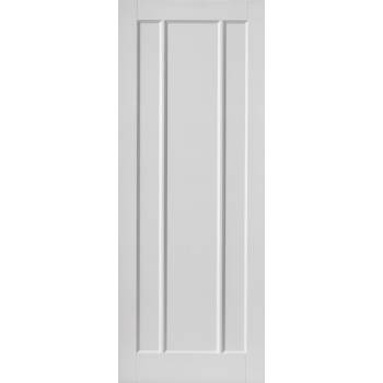 White Classic Jamaica Fire Door