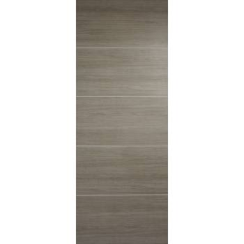 Pre-finished Santandor Light Grey Internal Door Laminate