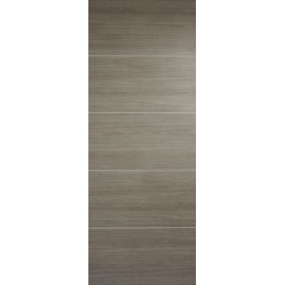 Pre-finished Santandor Light Grey Internal Door Laminate - Door Size, HxW: