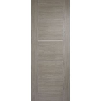 Pre-finished Vancouver Light Grey Internal Door Laminate