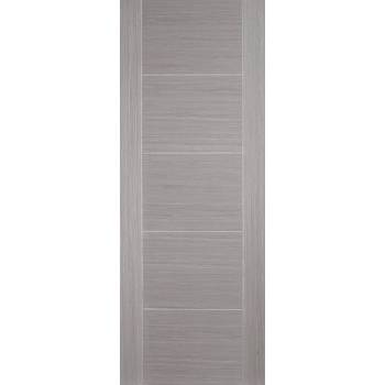 Pre-finished Vancouver Light Grey Internal Door Wooden Timber