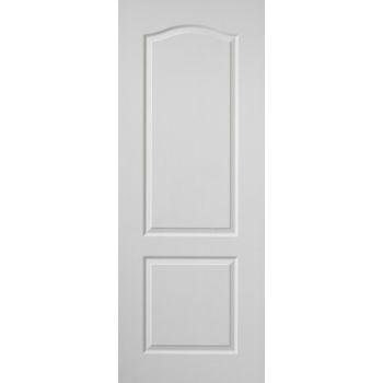 White Classic Classique Fire Door